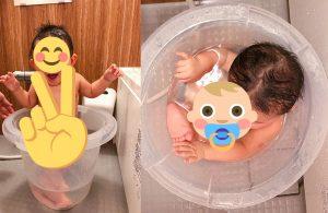 ワンオペ風呂グッズ『タミータブ』で初回のお風呂